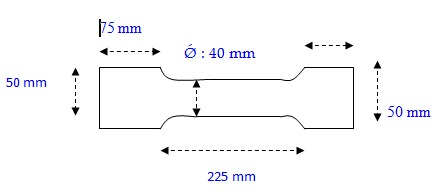 Laporan material teknik uji tarik sersasih dimensi dan ukuran spesimen untuk uji tarik ccuart Image collections